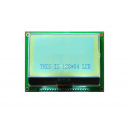 LCD WT-128x64 Graphic - White Backlight